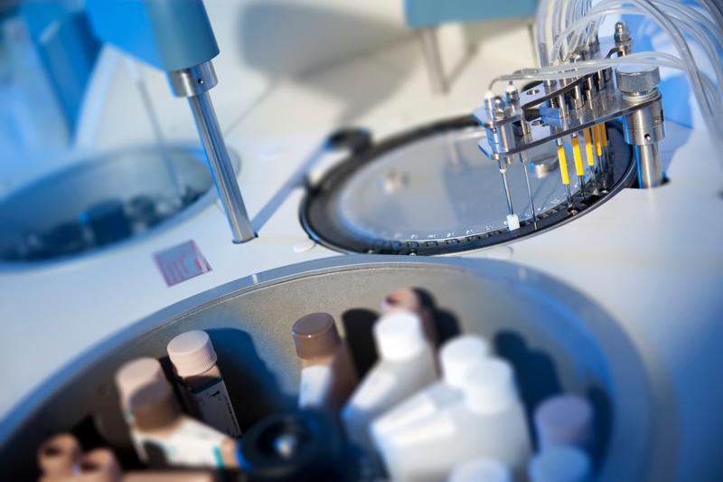 Современное лабораторное диагностическое оборудование.